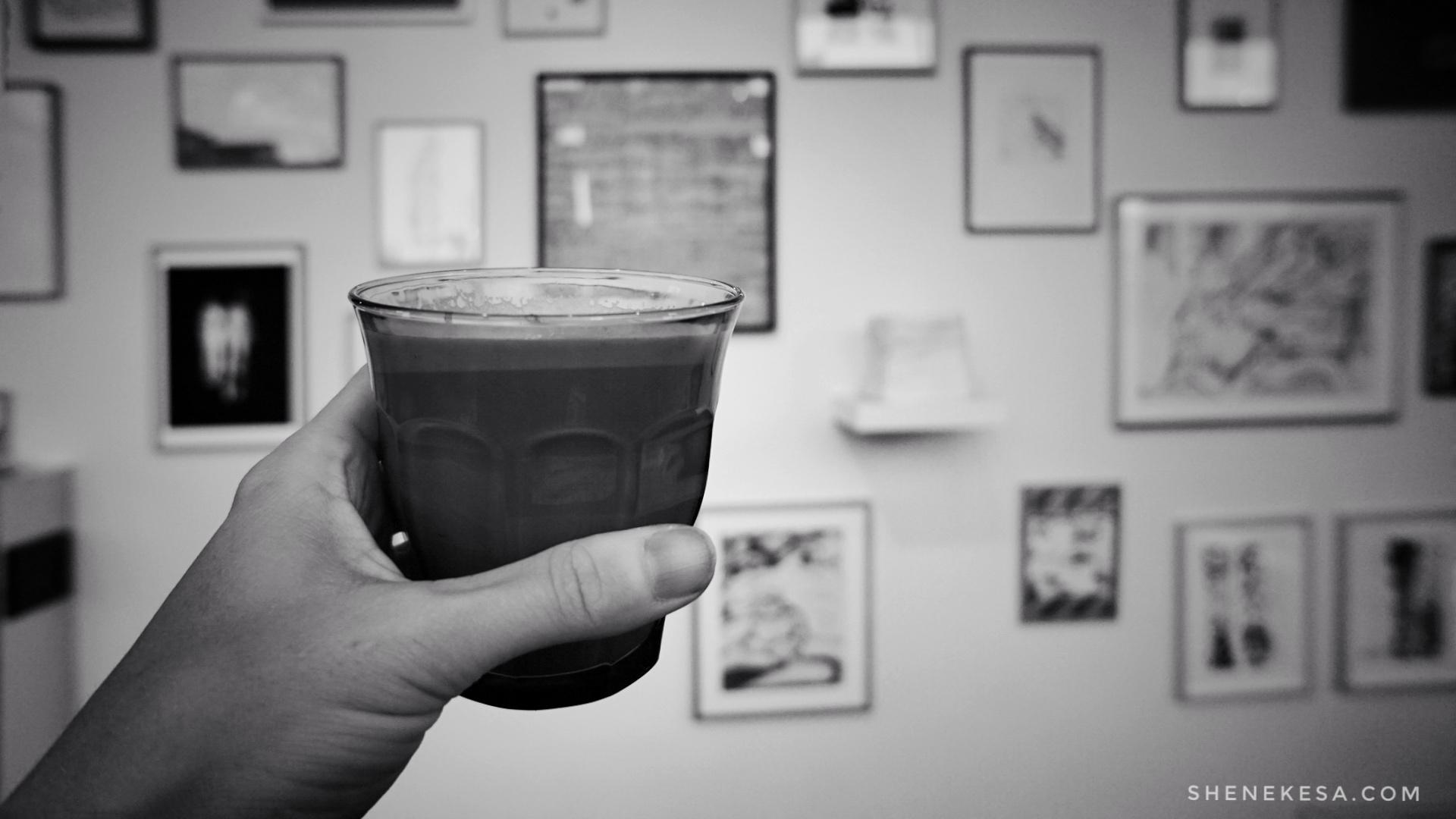 Bismút coffee Reykjavik by She Nekesa