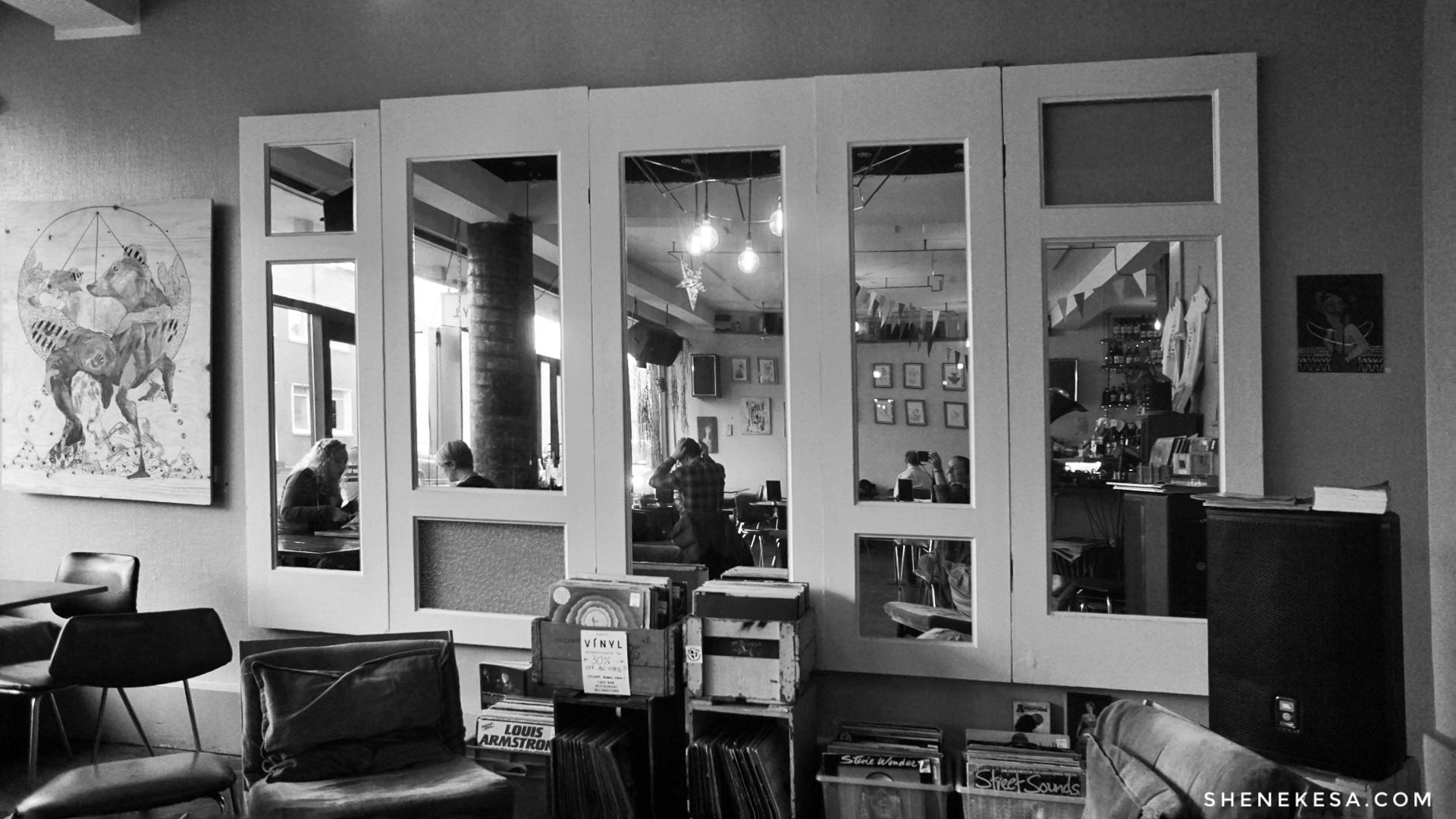 Kaffi Vínyl Reykjavik by She Nekesa